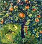 Edvard Munch - Bilder Gemälde - Apple Tree