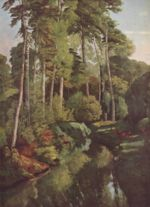 Gustave Courbet - paintings - Waldbach mit Rehen
