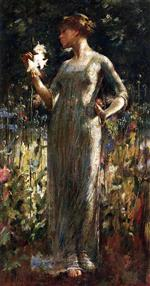 Theodore Robinson - Bilder Gemälde - A King's Daughter
