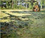 Theodore Robinson - Bilder Gemälde - Afternoon Shadows