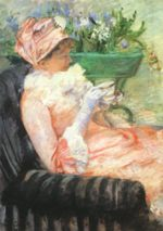 Mary Cassatt - paintings - The Cup of Tea