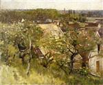 Theodore Robinson  - Bilder Gemälde - In the Orchard