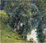 Theodore Robinson  - Bilder Gemälde - The Brook