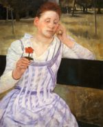 Mary Cassatt - paintings - Reverie