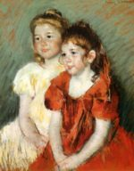 Mary Cassatt - paintings - Young Girls