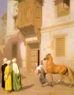 Jean Leon Gerome - paintings - The Horse Market