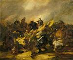 Bild:A Charge of Cuirassiers