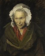 Jean Louis Theodore Gericault - Bilder Gemälde - Mad woman with mania of envy