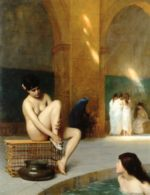 Jean Leon Gerome - paintings - Nude Woman