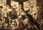 Luca Giordano - Bilder Gemälde - Christ Cleansing the Temple