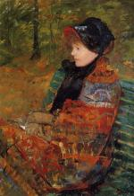 Mary Cassatt - paintings - Autumn