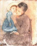 Mary Cassatt - paintings - Baby Bill