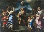 Luca Giordano  - Bilder Gemälde - The Triumph of David