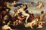 Luca Giordano  - Bilder Gemälde - The Triumph of Galatea