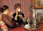 Mary Cassatt  - paintings - Tea