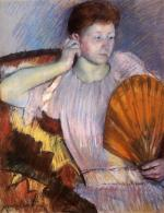 Mary Cassatt  - paintings - Contemplation
