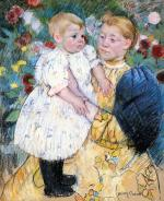 Mary Cassatt  - paintings - In The Garden