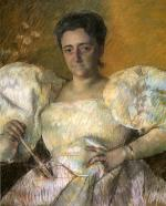 Mary Cassatt  - paintings - Louisine W. Havemeyer