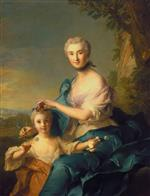 Bild:Madame Crozat de Thiers and her Daughter