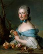 Jean Marc Nattier  - Bilder Gemälde - Portrait of a Woman, Called the Marquise Perrin de Cypierre
