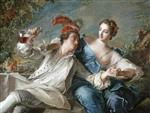 Jean Marc Nattier  - Bilder Gemälde - The Lovers