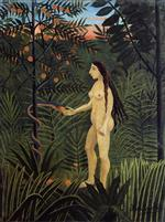 Henri Rousseau - Bilder Gemälde - Eve and the Serpent