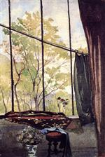 Henri Joseph Harpignies - Bilder Gemälde - In the Studio