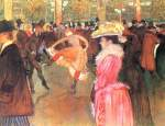Henri de Toulouse Lautrec - paintings - Dance at the Moulin Rouge