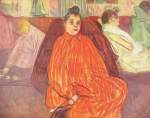 Henri de Toulouse Lautrec - paintings - Der Diwan