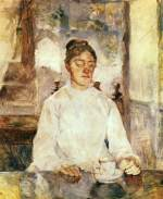 Henri de Toulouse Lautrec - paintings - The Mother of the Artist