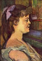 Henri de Toulouse Lautrec - paintings - Femme de Maison