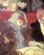Henri de Toulouse Lautrec - paintings - Im »Rat Mort«