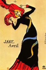 Henri de Toulouse Lautrec - paintings - Jane Avril