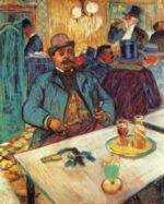 Henri de Toulouse Lautrec - paintings - Monsieur Boileau