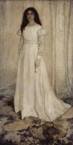 James Abbott McNeill Whistler - paintings - Symphony in white No. 1 (The White Girl)