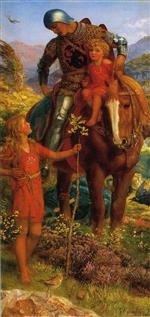 Arthur Hughes  - Bilder Gemälde - The Rescue