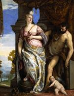 Paolo Veronese  - Bilder Gemälde - Wisdom and Strength