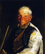 Robert Henri  - Bilder Gemälde - Old Johnnie