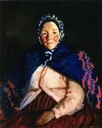 Robert Henri  - Bilder Gemälde - Old Johnnie's Wife