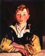 Robert Henri  - Bilder Gemälde - Portrait of a Boy (Sonny Mac)