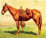 Frederic Remington - Bilder Gemälde - Cow Pony