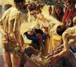 Lovis Corinth  - Bilder Gemälde - Salome, Second Version