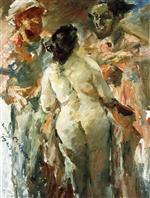 Lovis Corinth  - Bilder Gemälde - Susanna and the Elders