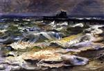 Lovis Corinth  - Bilder Gemälde - The Baltic Sea