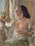 Lovis Corinth  - Bilder Gemälde - Woman at the Window