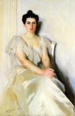Anders Zorn - paintings - Frances Cleveland
