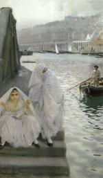 Anders Zorn - paintings - In the harbour of Algiers