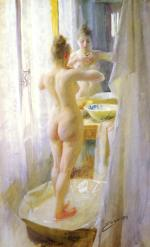 Anders Zorn - paintings - The tub