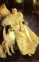 Anders Zorn  - Bilder Gemälde - Mrs. Bacon