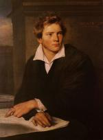 Franz Xavier Winterhalter - paintings - Portrait of a Young Architect